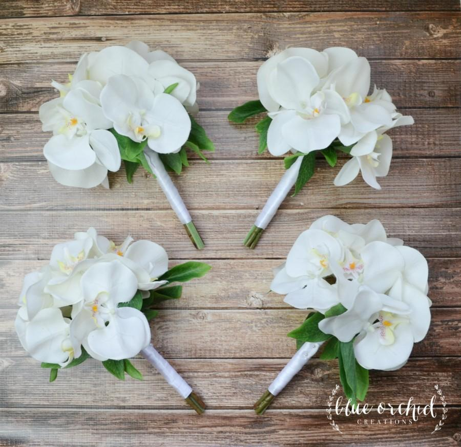 Bridesmaid Bouquet White Orchid Bridesmaid Bouquet Orchid Bouquet
