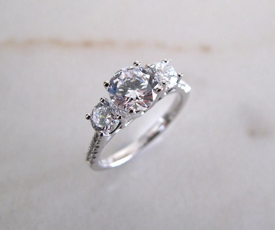 Mariage - AmourJewellery - Fine Handcrafted Engagement Ring; Style RB0087; 14K Gold