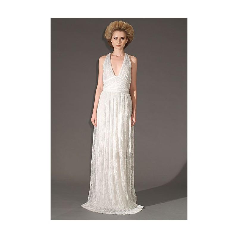 Get The Look Golden Globes Inspired Wedding Gowns Douglas Hannant Stunning Dresses