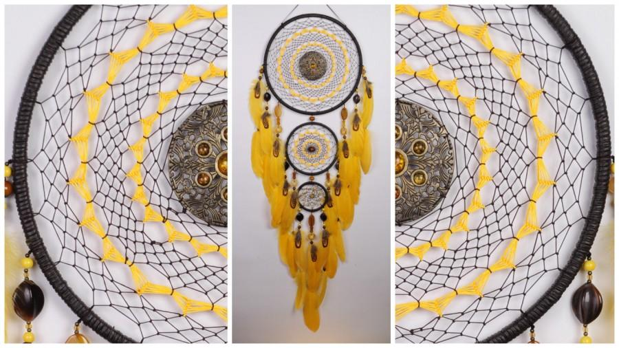 Wedding - Dreamcatcher brown Dreamcatcher brown Dream Catcher New Dream сatcher idea dreamcatcher boho agate carnelian onyx dreamcatcher wall handmade