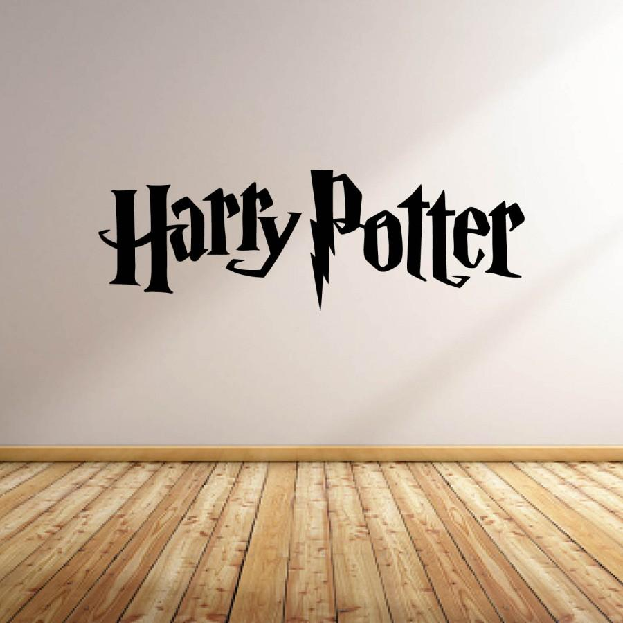 Свадьба - Vinyl Wall Word Decal - Harry Potter Logo - Harry Potter - Home Goods - Car Decal - Wall Decal - Laptop Decal