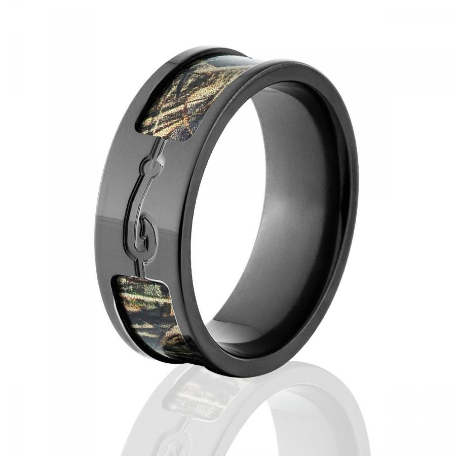 max 5 camo rings realtree camo rings camo wedding bands fishhook rings bz camomax5 fishhook - Realtree Camo Wedding Rings