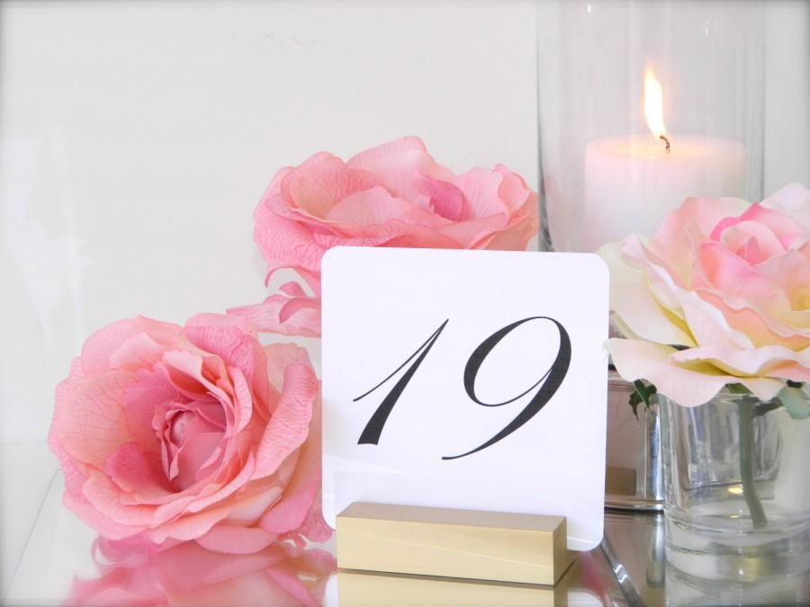 Свадьба - Table Number Holder + Gold Table Number Holder + Gold Wedding Table Number Holders