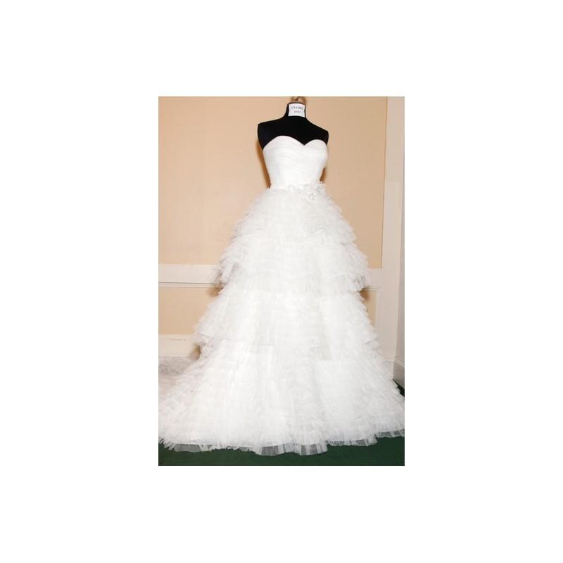 زفاف - Jasmine FW12 Dress 1 - A-Line Full Length Sweetheart Fall 2012 White Jasmine Couture - Nonmiss One Wedding Store