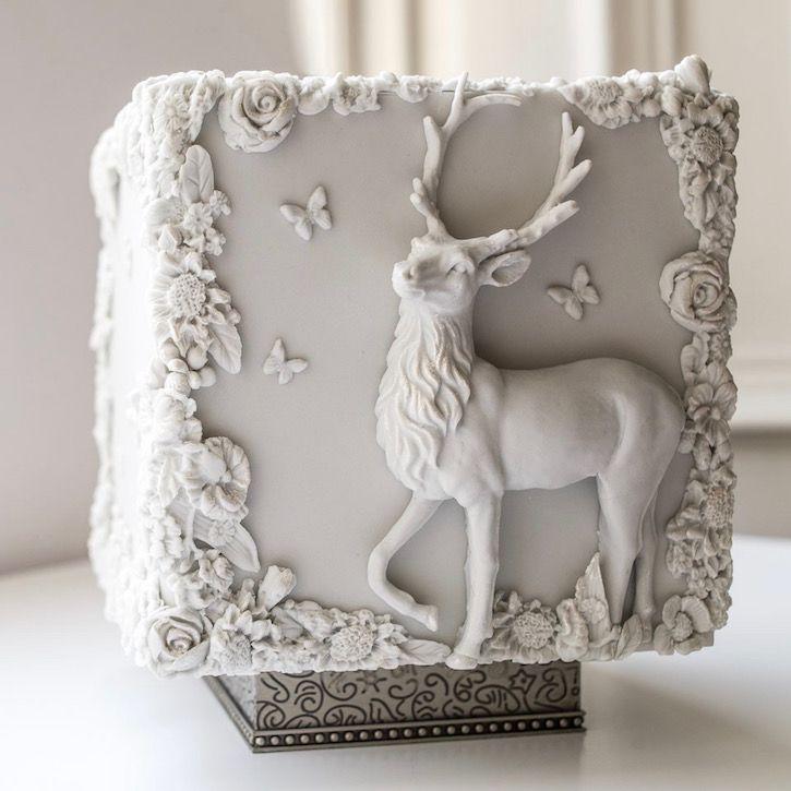 زفاف - Cube Cake