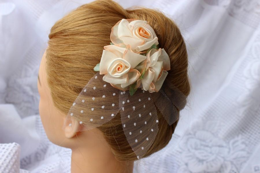 Hochzeit - Bridal Hair Pin, Bridal Accessories, Wedding hair accessories, Hair flower, Bridal hair clips, Brooch for bridal