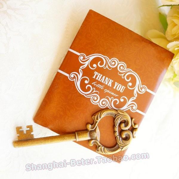 Mariage - DIY婚禮小物 金色鑰匙開瓶器Rustic Wedding復古風HH030夏季交換小禮品Beter Gifts®