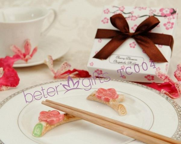 Mariage - 出口日本櫻花筷架TC004姐妹快嫁 歐範創意來賓回禮BeterWedding節慶用品禮物