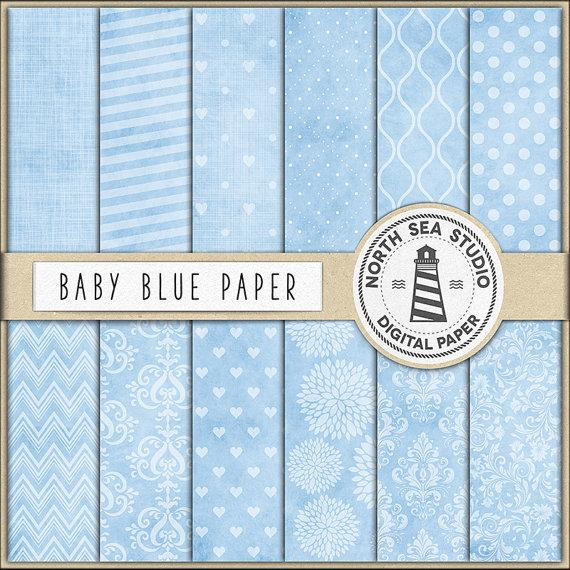Wedding - Baby Blue Scrapbooking Paper, Light Blue Digital Paper, Blue Printable Paper, Baby Blue Backgrounds, Coupon Code: BUY5FOR8