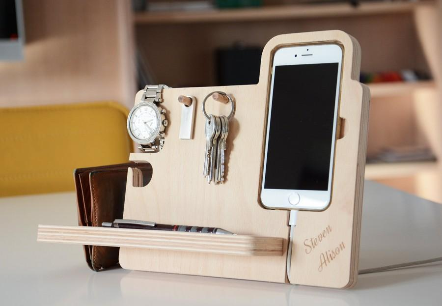 IPhone6 - 6s Personalized Docking Station, Anniversy Gifts For Men ...