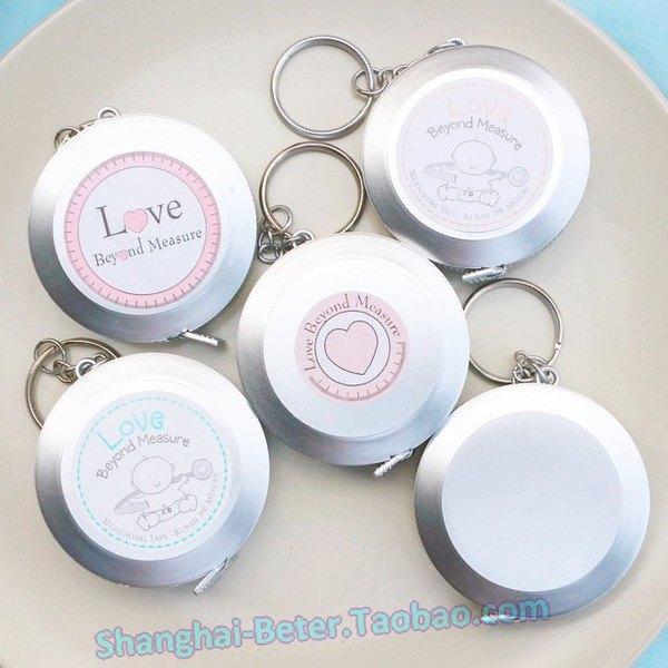 "Wedding - ""Love Beyond Measure"" Measuring Tape Keychain  BETER-ZH004 @beterwedding"