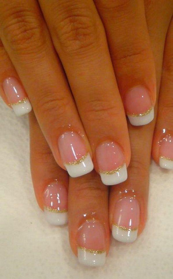 Nagel - French Nail Art Design #2671142 - Weddbook