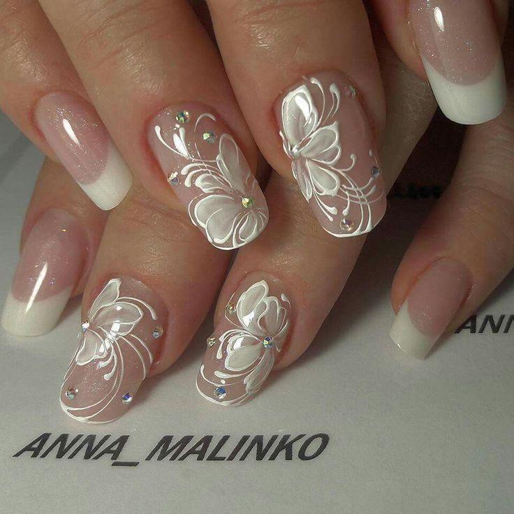 Clouer wedding nails 2671143 weddbook wedding nails junglespirit Choice Image