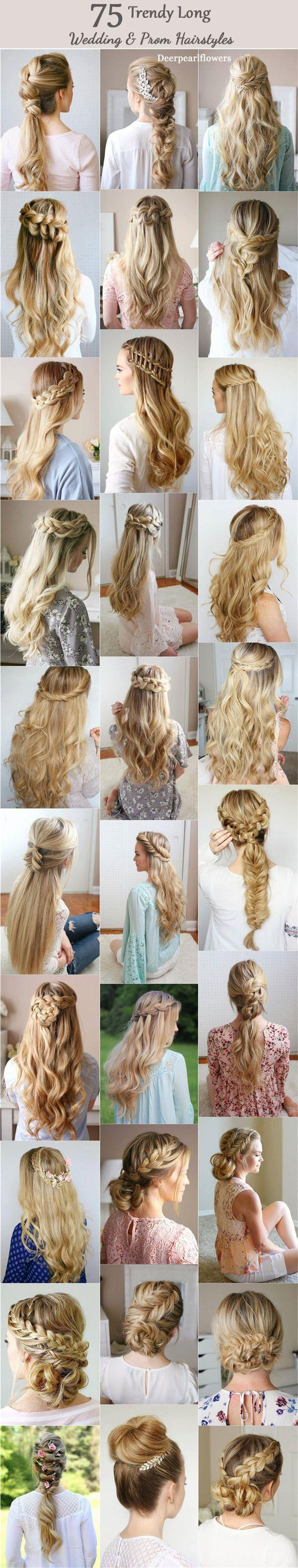 Mariage - 75 Trendy Long Wedding & Prom Hairstyles To Try In 2017