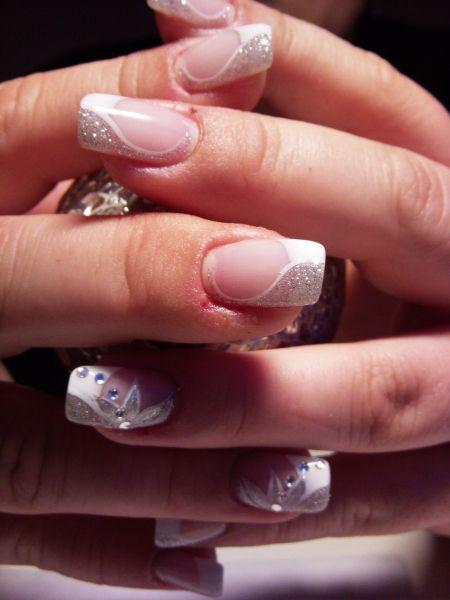Düğün - Beautiful Wedding Nails