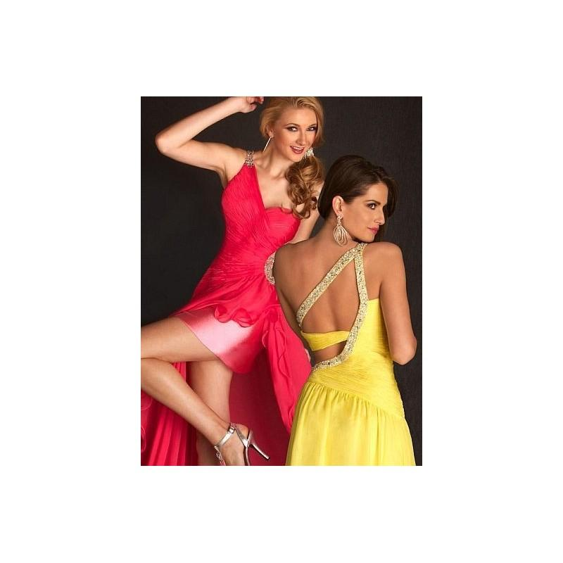 Свадьба - Flash by MacDuggal One Shoulder Prom Dress with Sequins 6063L - Brand Prom Dresses