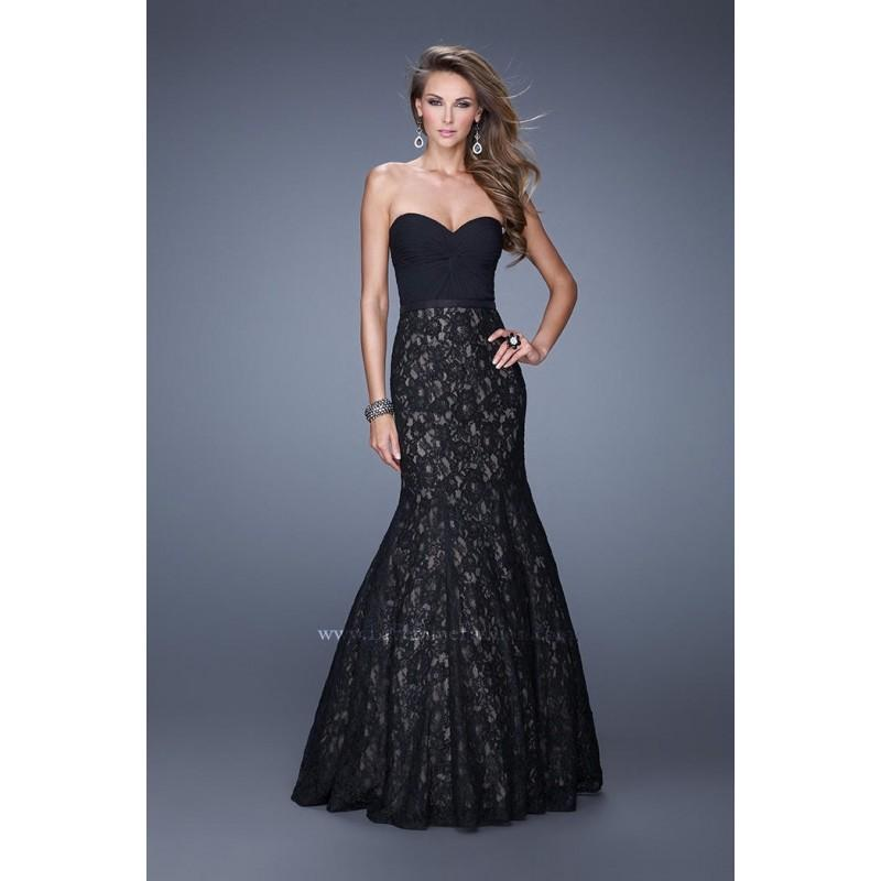 Свадьба - La Femme 21046 Lace Mermaid Dress - Brand Prom Dresses