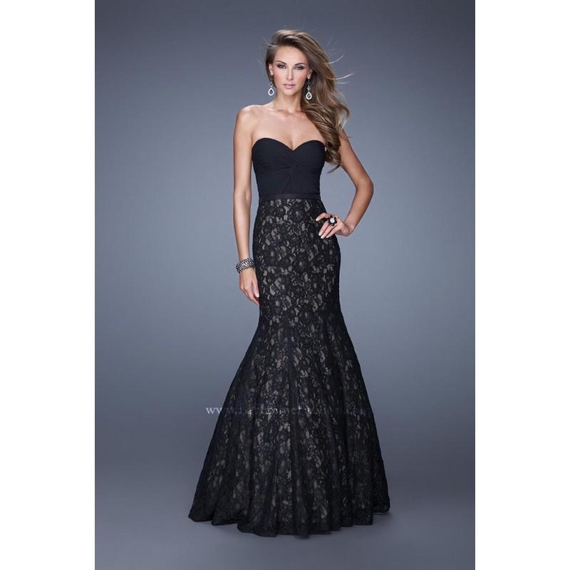 Wedding - La Femme 21046 Lace Mermaid Dress - Brand Prom Dresses