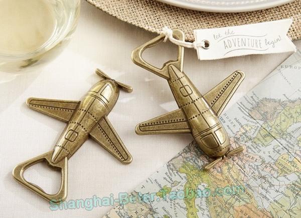 Boda - Beter Gifts® 小飞机啤酒开罐器 广告开瓶器 航太周年纪念WJ117空军节纪念礼品
