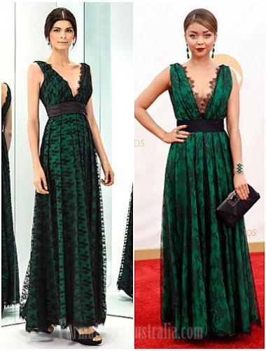 Prom Gowns Military Ball Australia Formal Evening Dress Dark Green ...