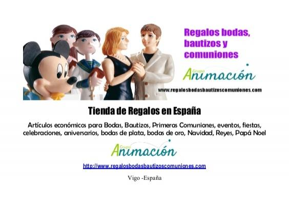 Wedding - Catalogo de Regalos para Bautizos, Bodas, Comuniones, fiestas, eventos