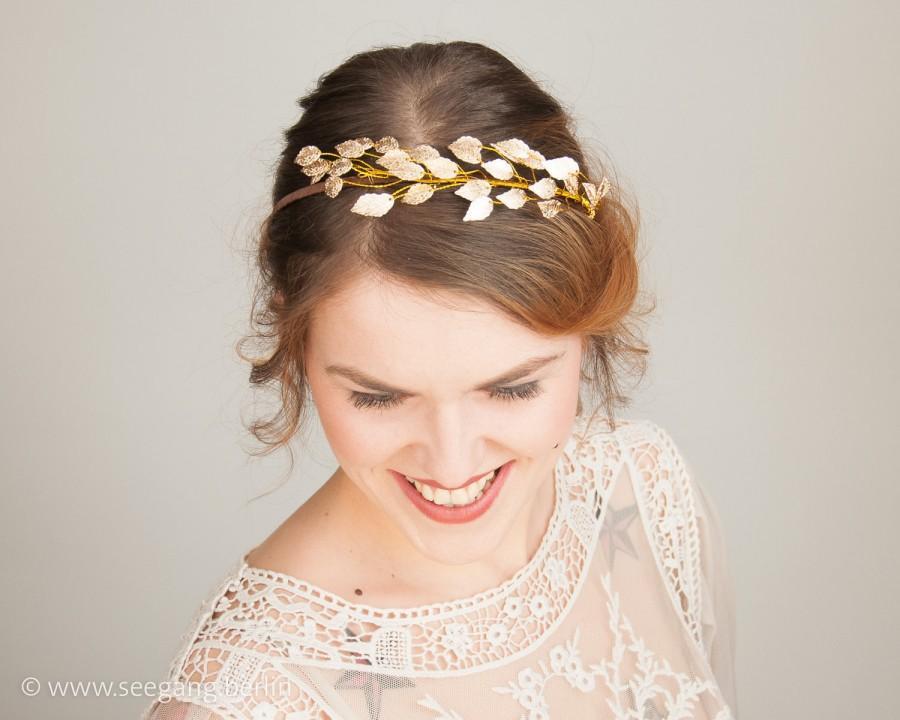 Свадьба - Romantic Bridal Headband