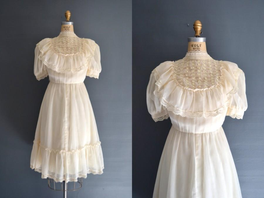 Wedding - 70s dress / 1970s dress