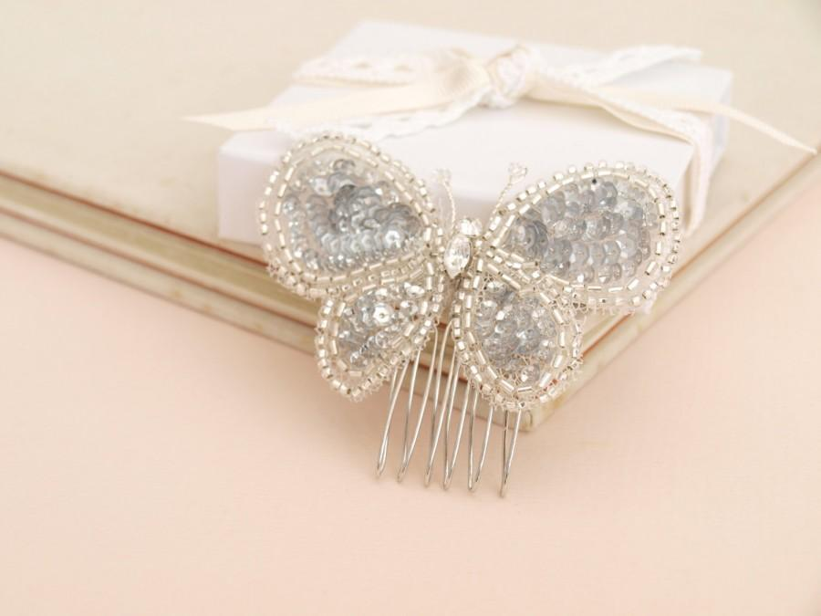 Mariage - Butterfly Hair Comb