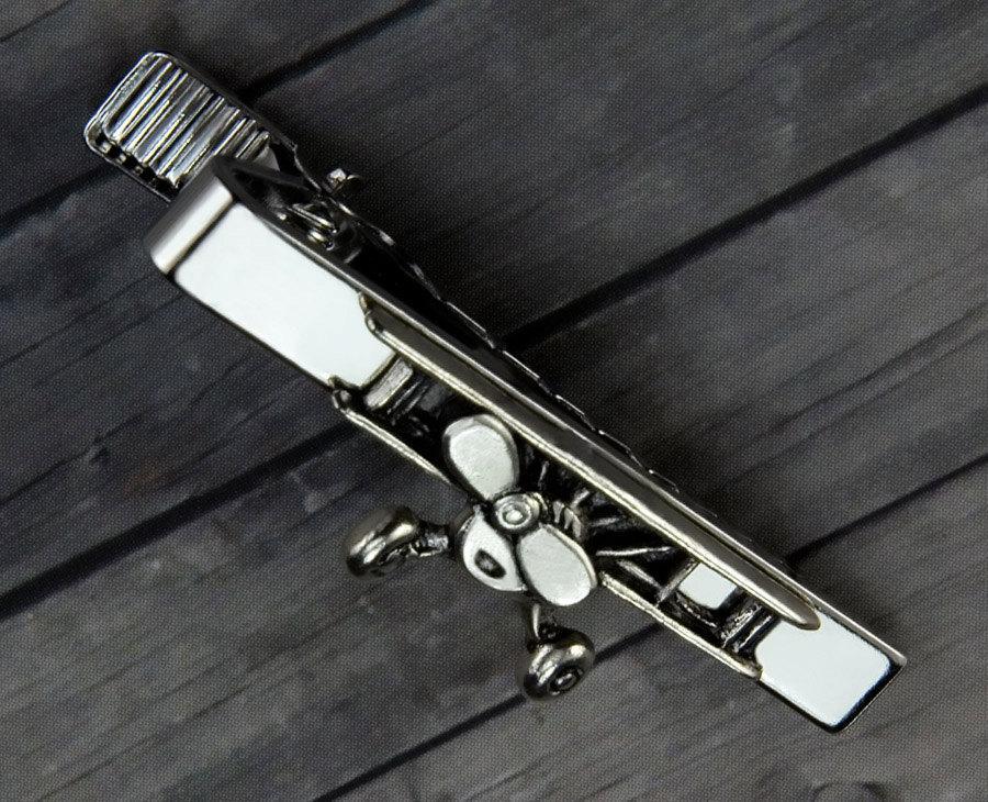 زفاف - Vintage Airplane Tie Clip - Vintage Airplane Tie Bar -  Mens Accessory - Valentines Day - Gifts for Him - Mens Jewelry - Airplane - Mens