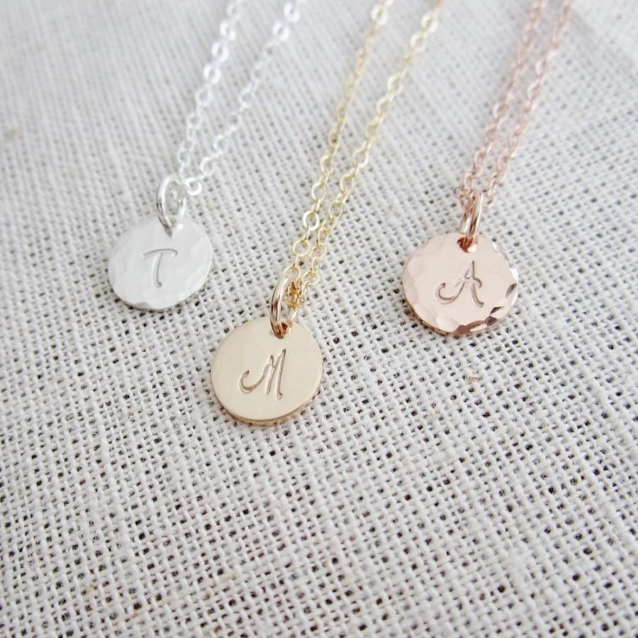 Rose gold initial necklace pink gold filled necklace sterling rose gold initial necklace pink gold filled necklace sterling silver initial tiny initial necklace single initial personalized necklace aloadofball Gallery