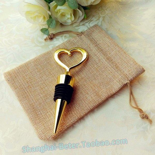 Mariage - Glitter Bottle Stopper Wedding Favor WJ108 Valentine's day @beterwedding
