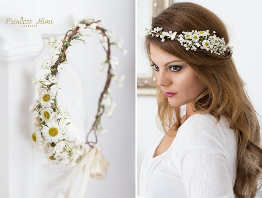 Daisy Flower Crown 11ec9f8893f