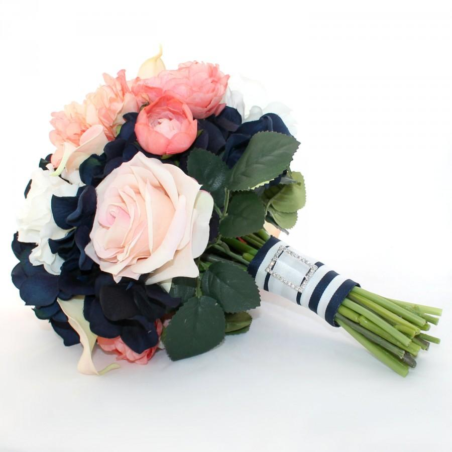 Wedding - AHOY Nautical Bridal Bouquet