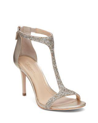 Mariage - Imagine VINCE CAMUTO Phoebe Glitter T Strap High Heel Sandals