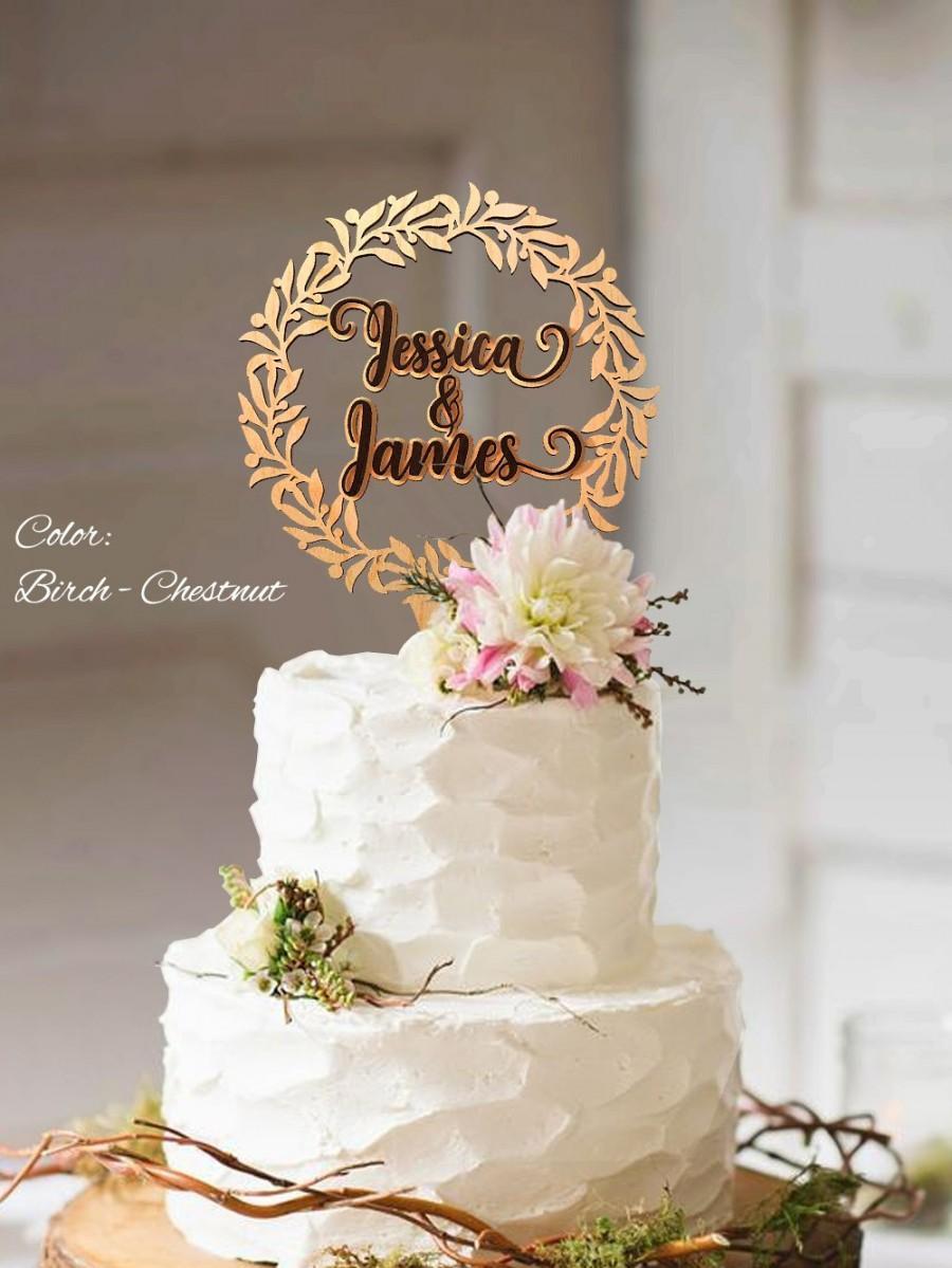 Свадьба - Cake topper wedding. Rustic wedding cake topper. Wreath Cake Topper. Wedding cake topper rustic. Cake topper rustic wedding.