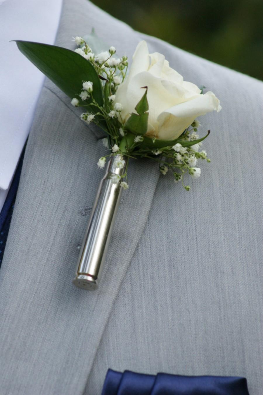 Mariage - Bullet boutonniere