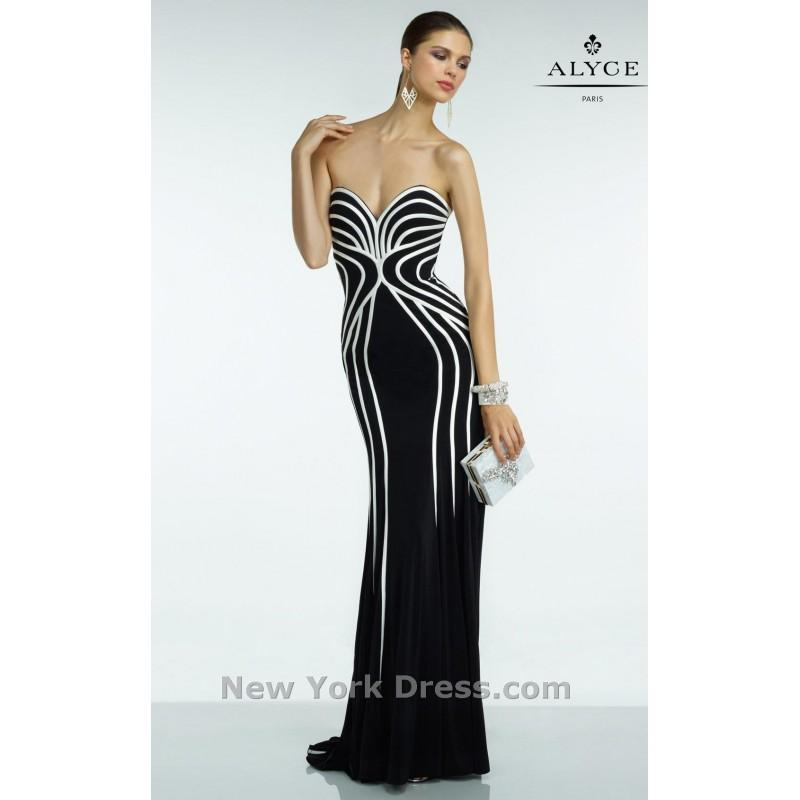 Mariage - Alyce 35823 - Charming Wedding Party Dresses