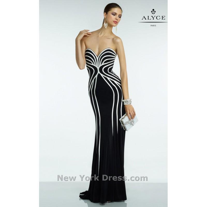 Hochzeit - Alyce 35823 - Charming Wedding Party Dresses