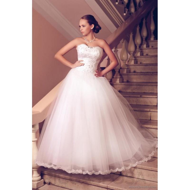 Wedding - Ricca Sposa 12-014 Ricca Sposa Wedding Dresses 2017 - Rosy Bridesmaid Dresses