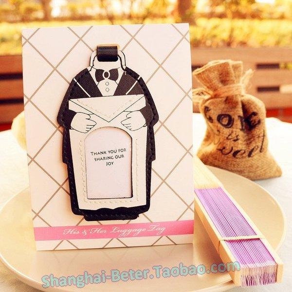 Свадьба - Beter Gifts® 婚慶用品 #佈置桌卡 #新郎席位卡 #同性戀婚禮 #行李牌 BETER-ZH018實用歐式 #婚禮小物 #結婚小物 #定制婚禮 #新郎 #新娘