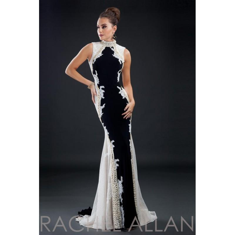 Свадьба - Black/White Rachel Allan Couture 8120 Rachel ALLAN Couture - Rich Your Wedding Day