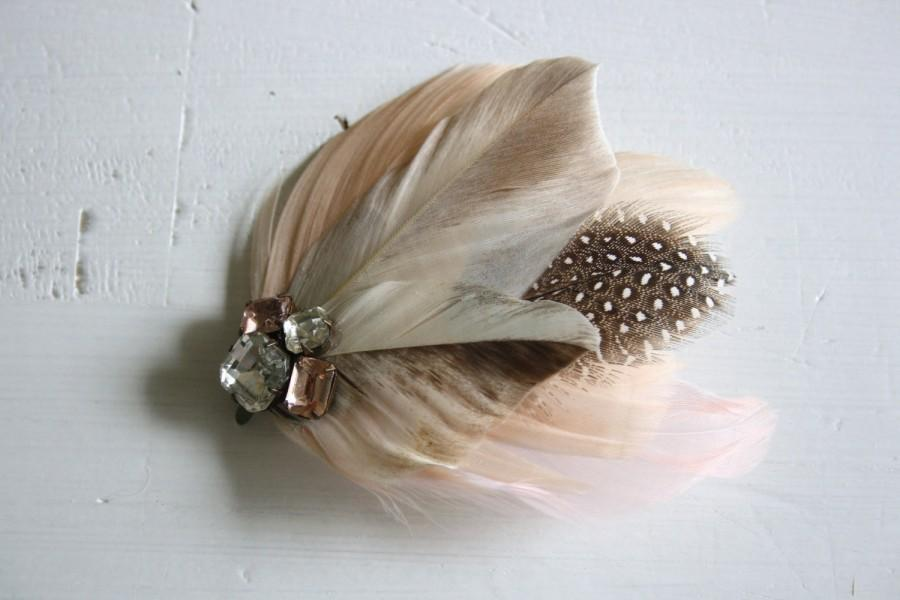 Mariage - BLUSH Fascinator