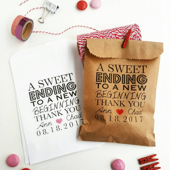 Mariage - Wedding Favor Bags-Candy Buffet Bags-Wedding bags Personalized