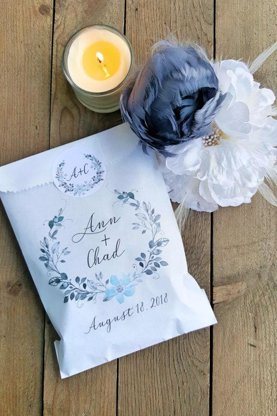Hochzeit - Wedding Favor Bags - Graduation Favor Bags - Bridal Shower Favors - Baby Shower Favors - Treat Bags