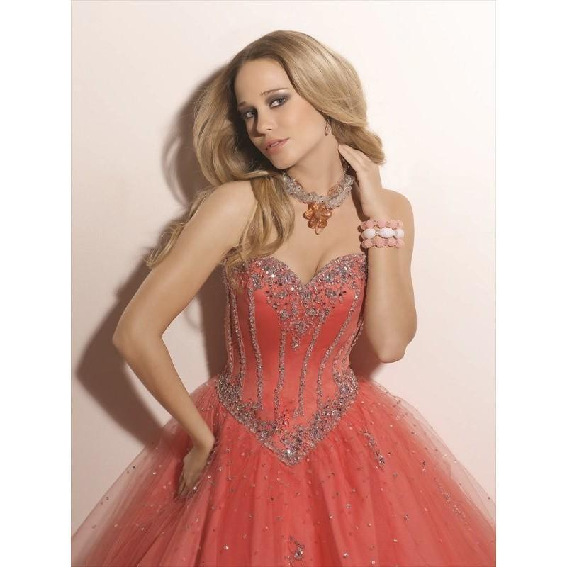 Boda - Stylish Ball Gown Sweetheart Beading Sleeveless Floor-length Chiffon Dresses In Canada Prom Dress Prices - dressosity.com