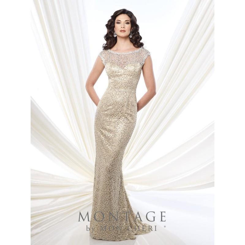 Hochzeit - Gold Sugarplum Montage by Mon Cheri 215912 Montage by Mon Cheri - Top Design Dress Online Shop
