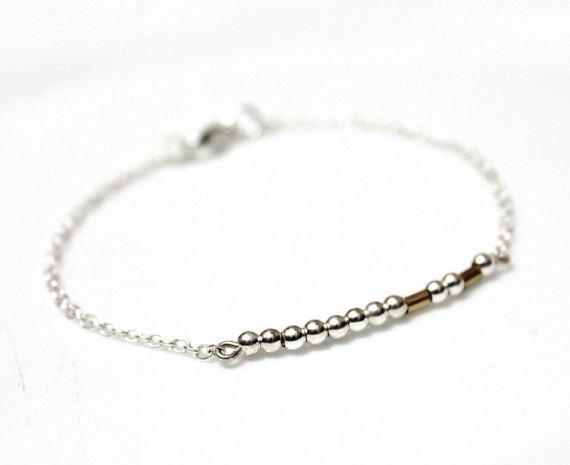 Wedding - Sister Morse Code Bracelet, Morse Code Bracelet, Morse Code Jewelry, Custom Morse Code, Friends Bracelet, Bridesmaid Gift, Sisters Gift