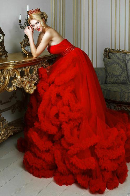Свадьба - Dresswe Reviews--Red Wedding Dress