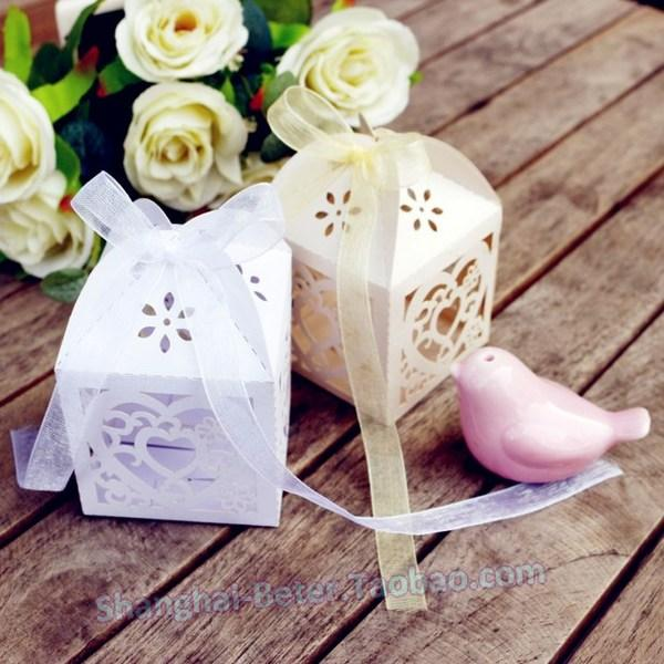 Mariage - Beter Gifts®  Laser Cut HH045 bride Candy Box birthday Decoration