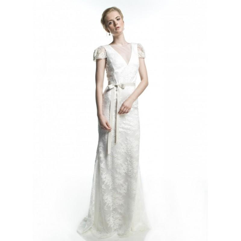 Mariage - Rafael Cennamo WHITE COLLECTION - WHITE FALL 2014 Style 250 -  Designer Wedding Dresses